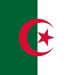 algeria flag round icon 256