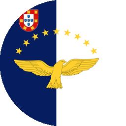 azoers islands flag round icon 256