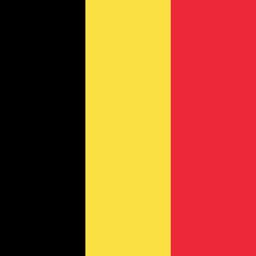 belgium flag round icon 256