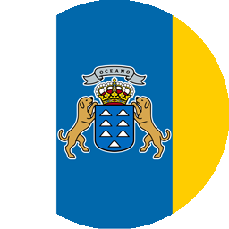 canary flag round icon 256