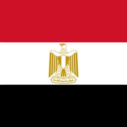 egypt flag round icon 256
