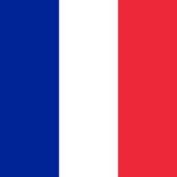 france flag round icon 256