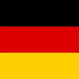 germany flag round icon 256
