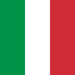 italy flag round icon 256