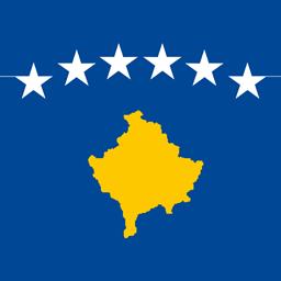 kosovo flag round icon 256