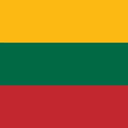 lithuania flag round icon 256