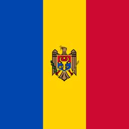 moldova flag round icon 256
