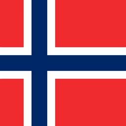 norway flag round icon 256