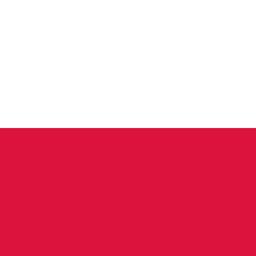 poland flag round icon 256