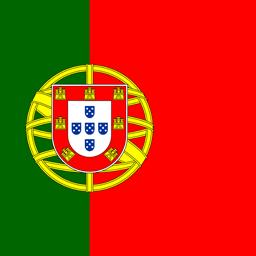 portugal flag round icon 256