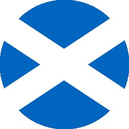 scotland flag round icon 256