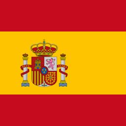 spain flag round icon 256
