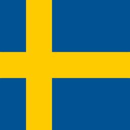 sweden flag round icon 256