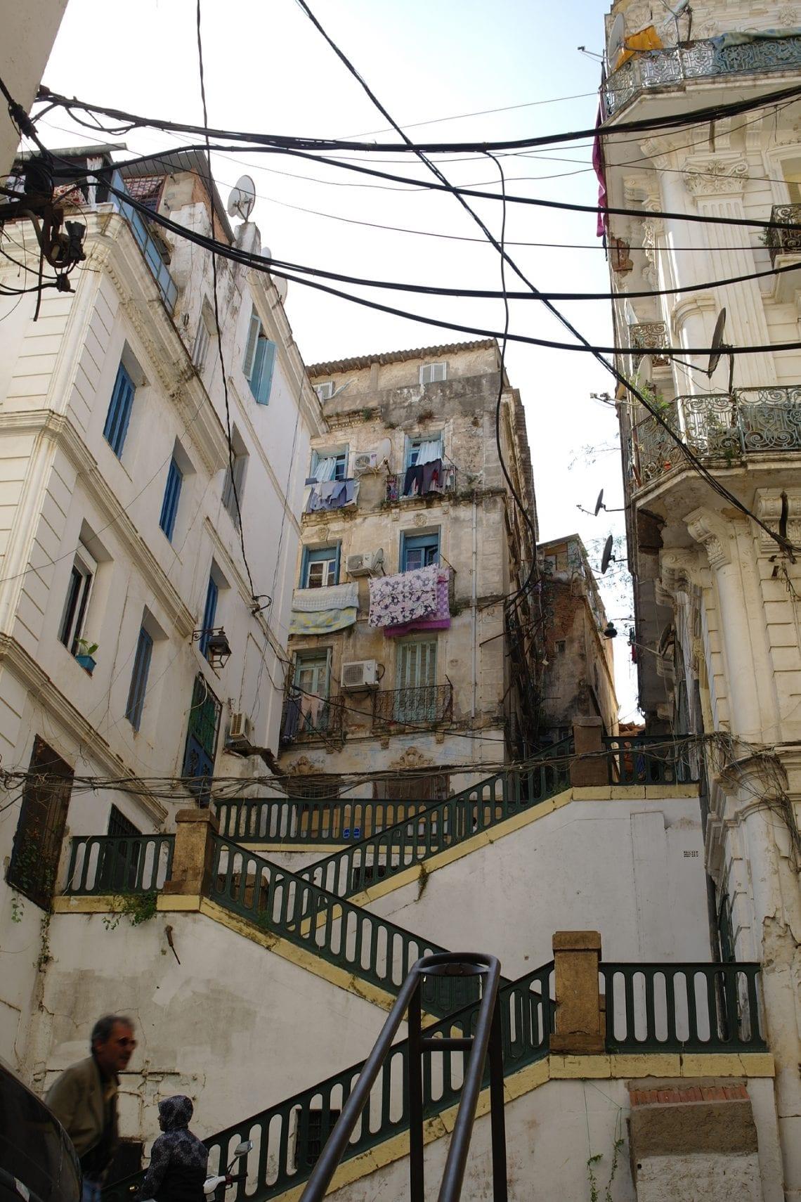 algiers cashah has some pretty steep streets