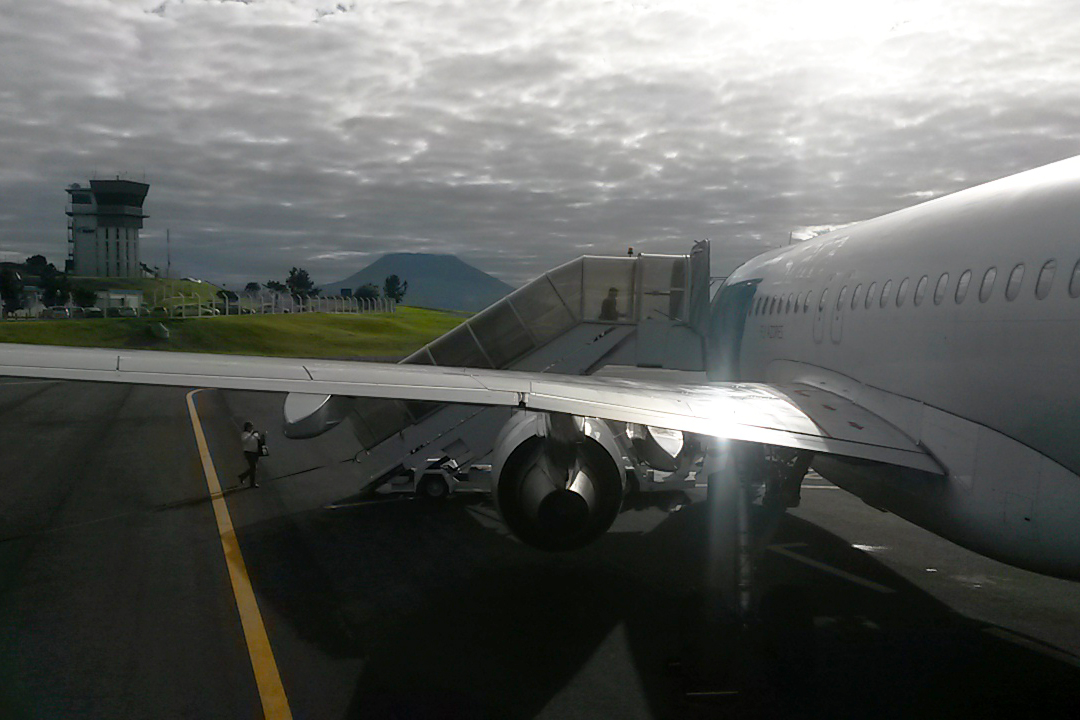 azores catching our flight home