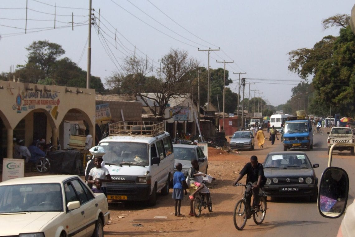 banjul challenge driving in the gambia