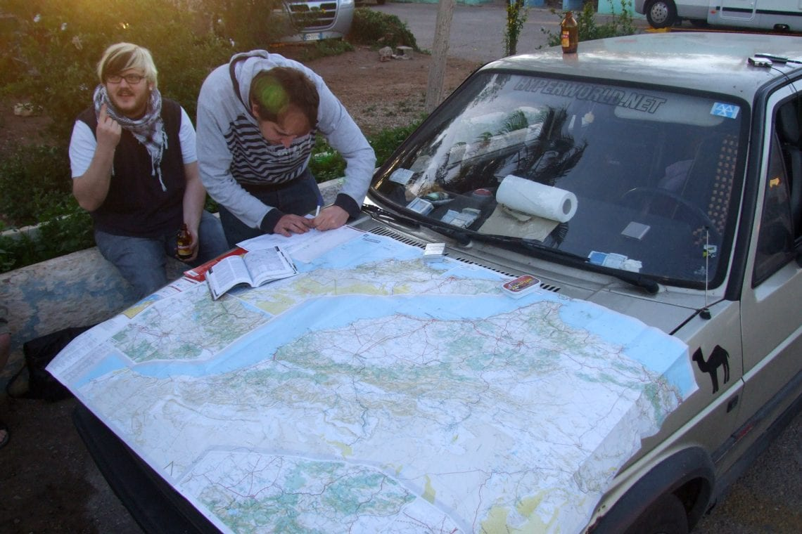 banjul challenge lee planning our route