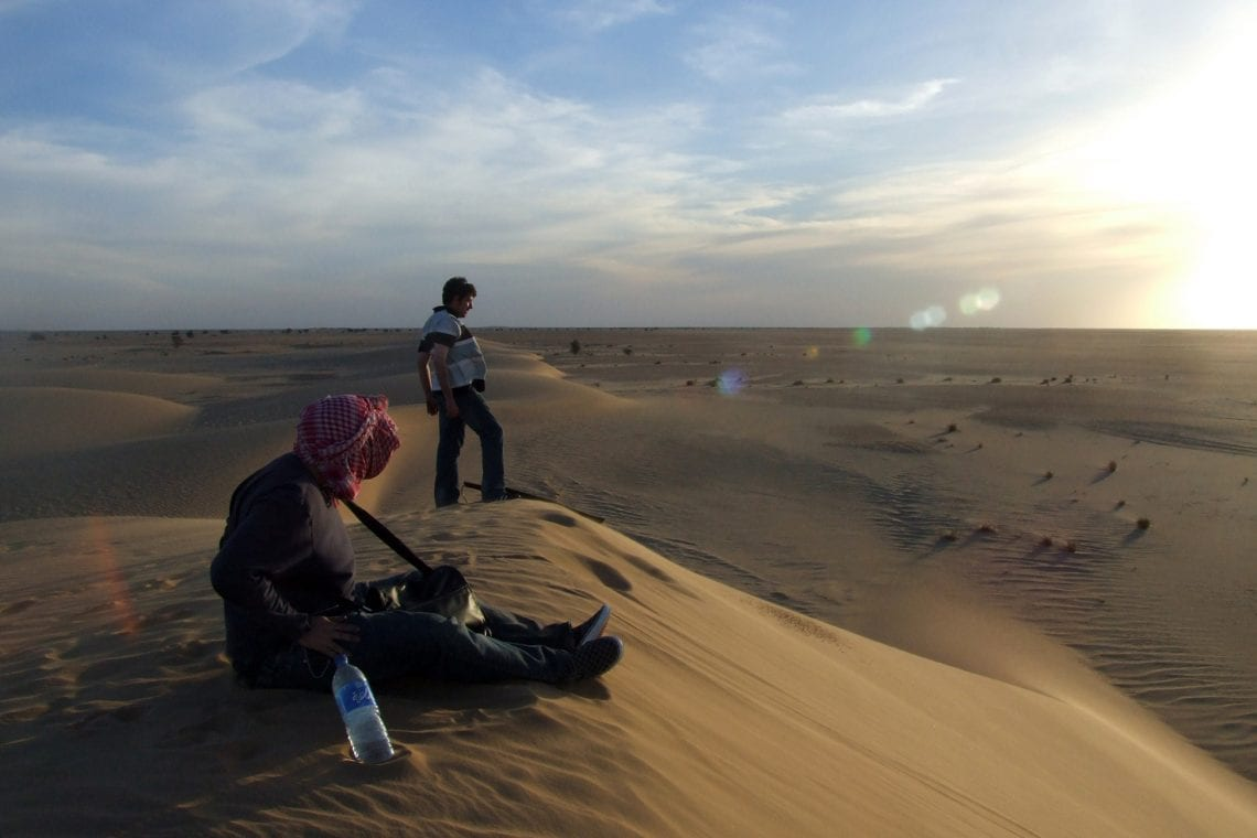 banjul challenge macca and lee on the sand dunes in mauritania