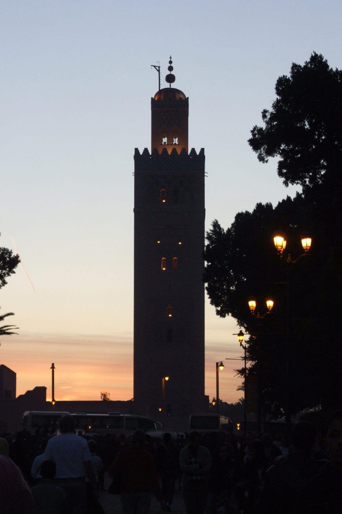 banjul challenge marrakech kutubiyya mosque 2
