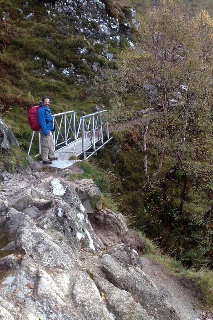 ben nevis maz crossing the bridge
