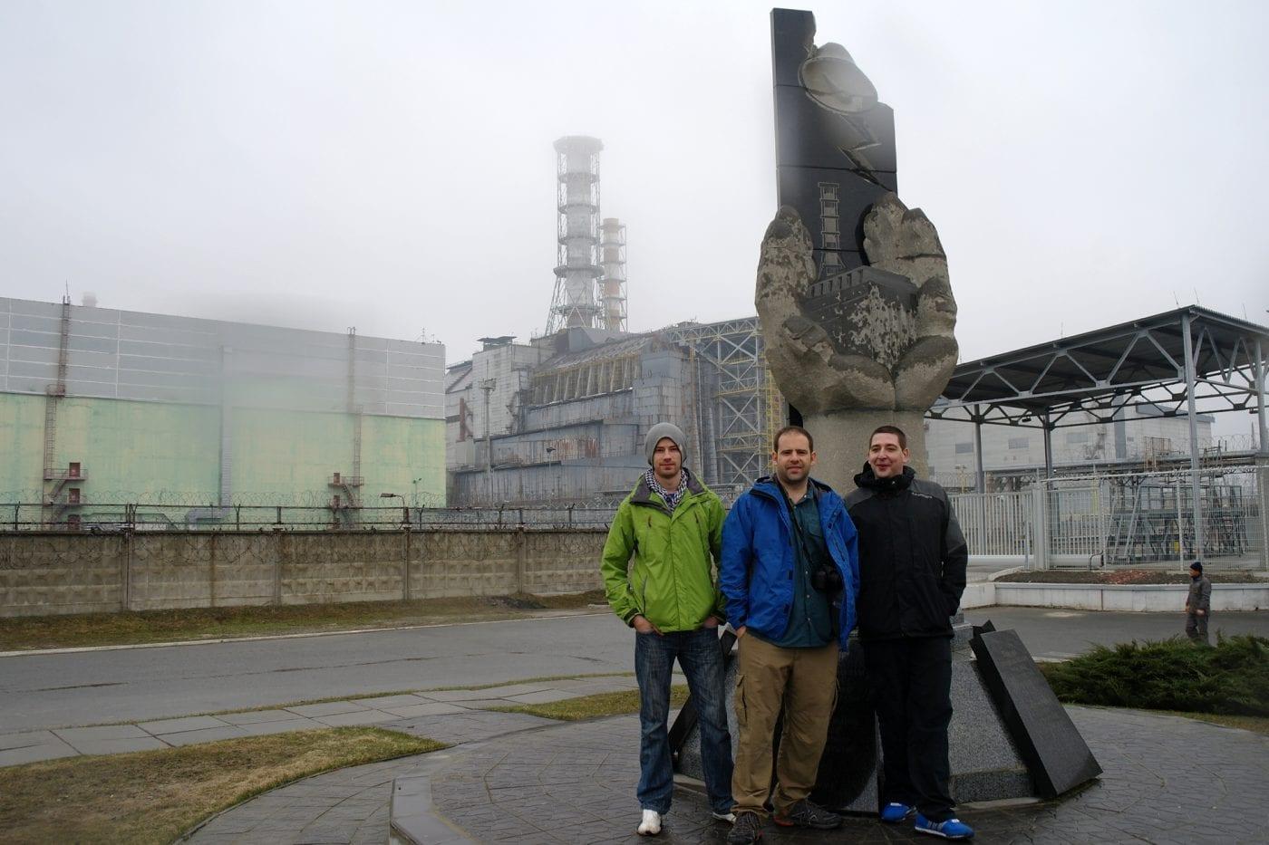chernobyle lee dan and maz at reactor 4