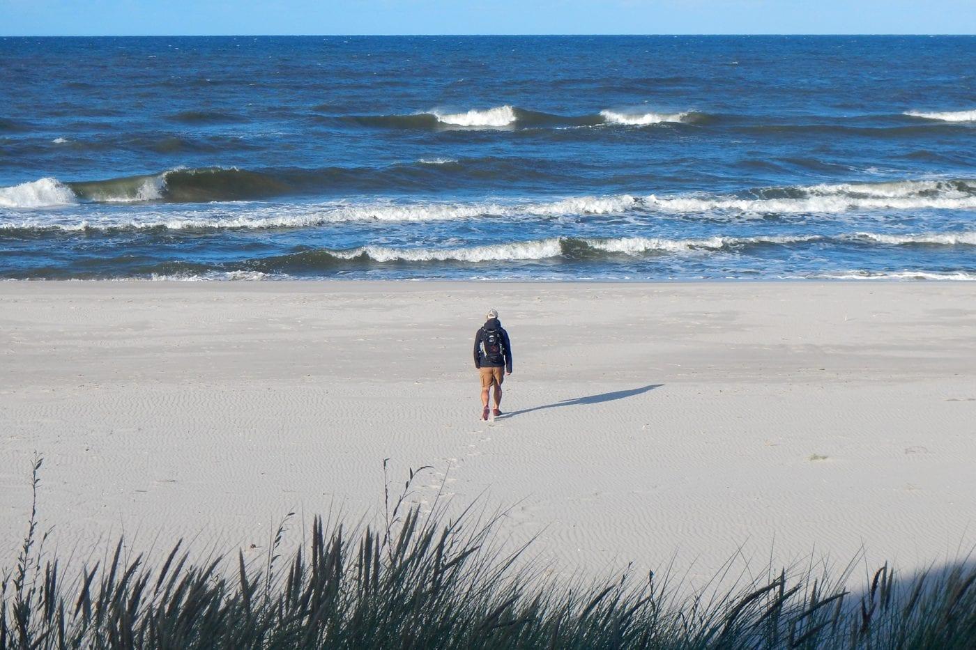 hel ben on the beach