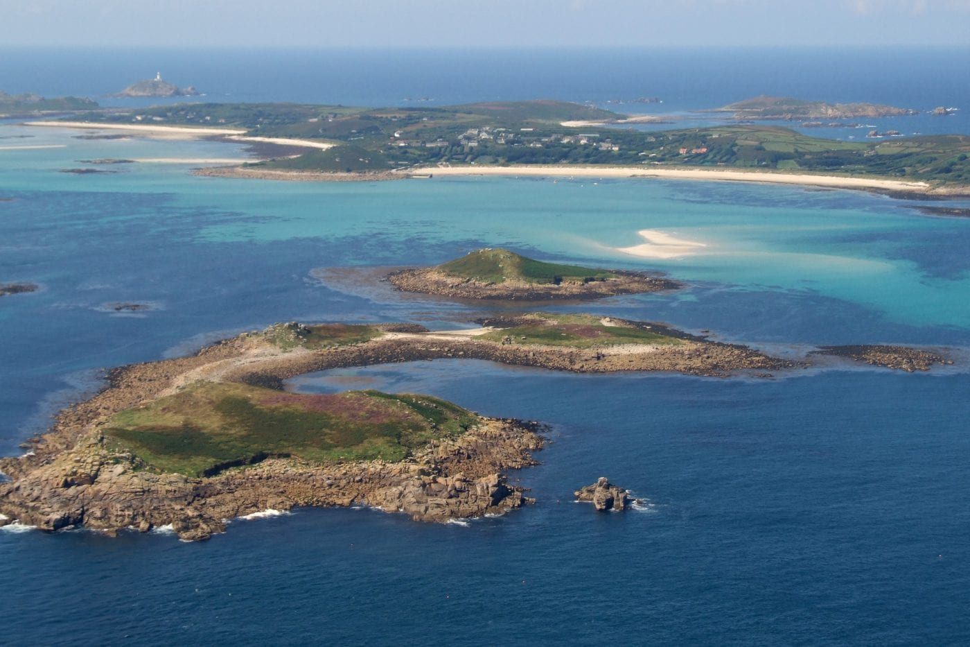 isle of scilly islands from above 2