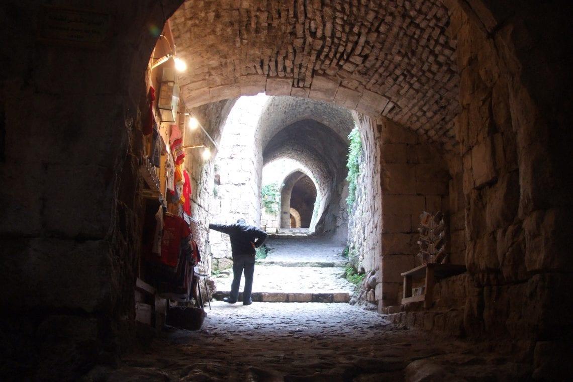 krack des chevaliers entrance to the castle