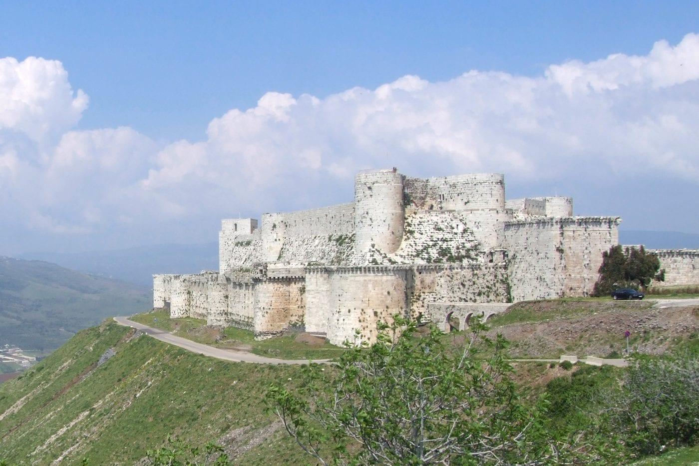 krack des chevaliers the castle