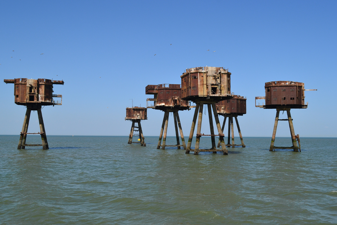 maunsell forts a wounderful day to be exploring these forts