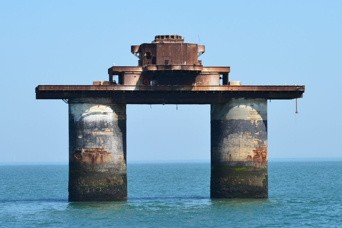 maunsell forts the navy's knock john fort and later the home of radio essex