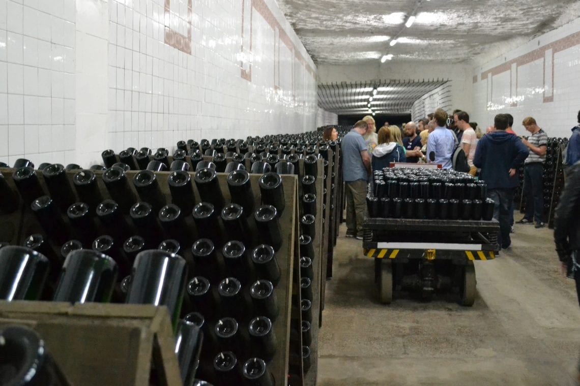 moldova a tour of the wine cellars