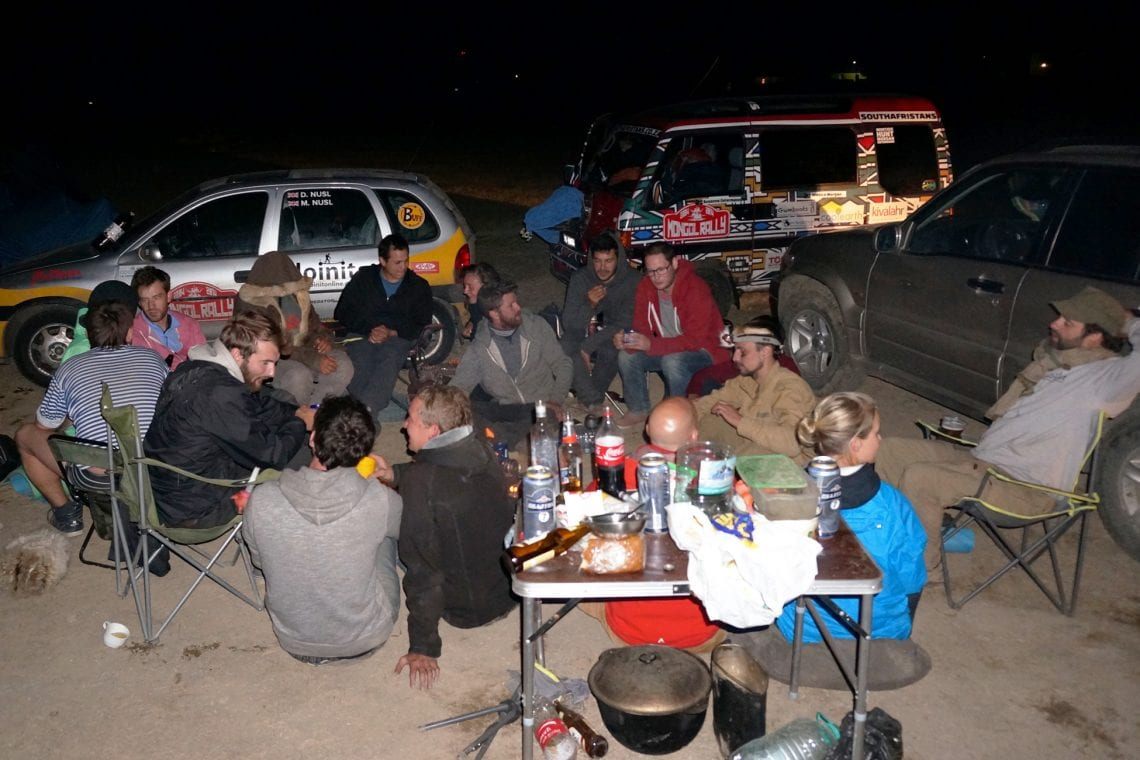 mongol rally camping in russia