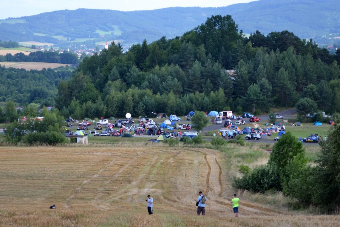 mongol rally looking at the czech out party from afar