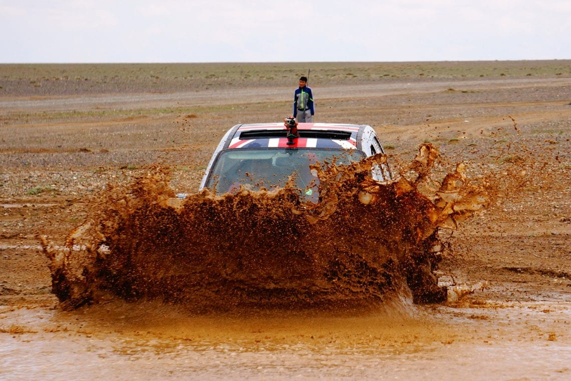 mongol rally so much mud in mongolia