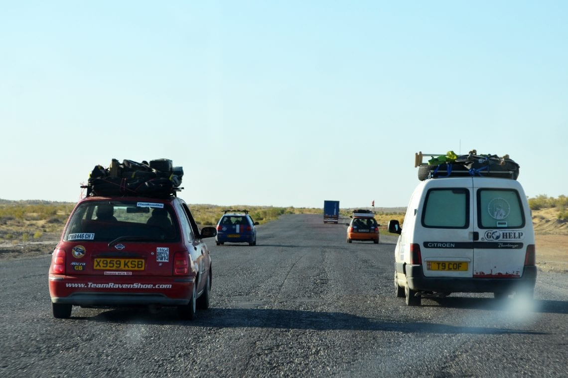mongol rally the road to uzbeck