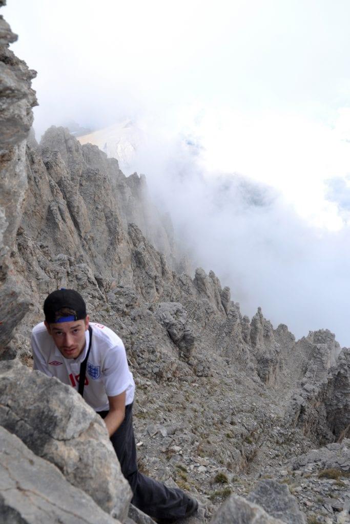 mt olympus dan almost at the top