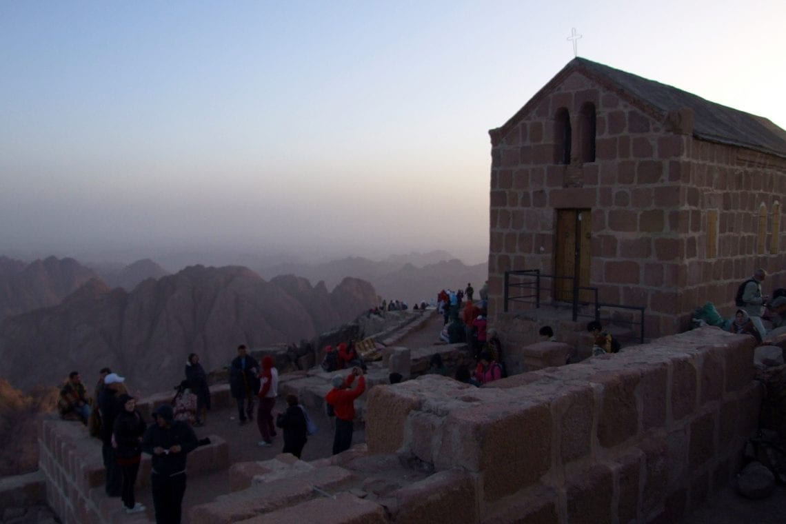 mt sinai chaple at the top
