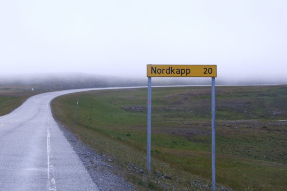 murmansk challenge a proper misrable day at nordkapp