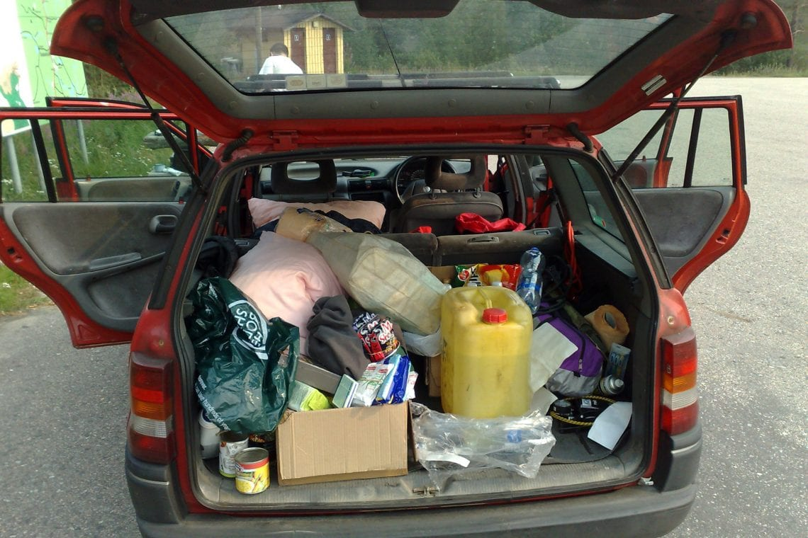 murmansk challenge our messy car