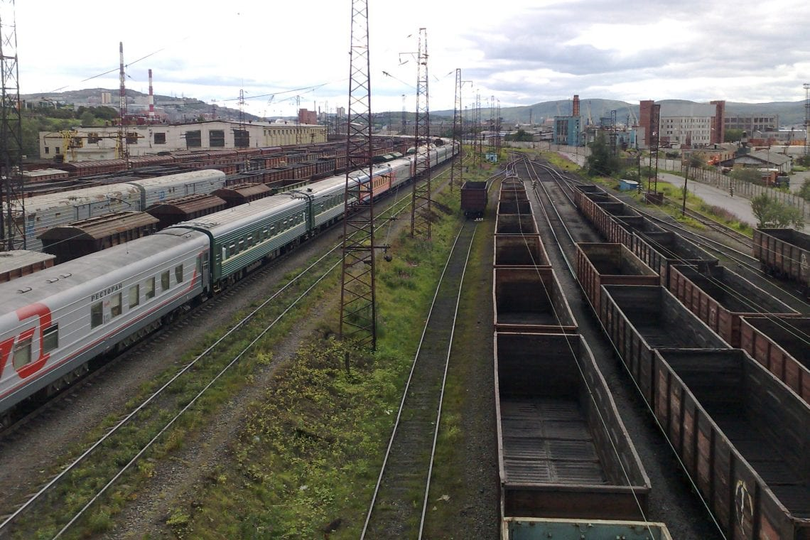 murmansk challenge train station