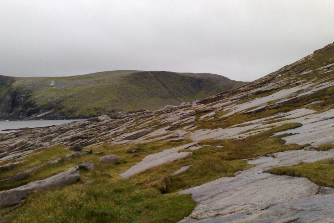 nordkapp final section accorss slippery rocks