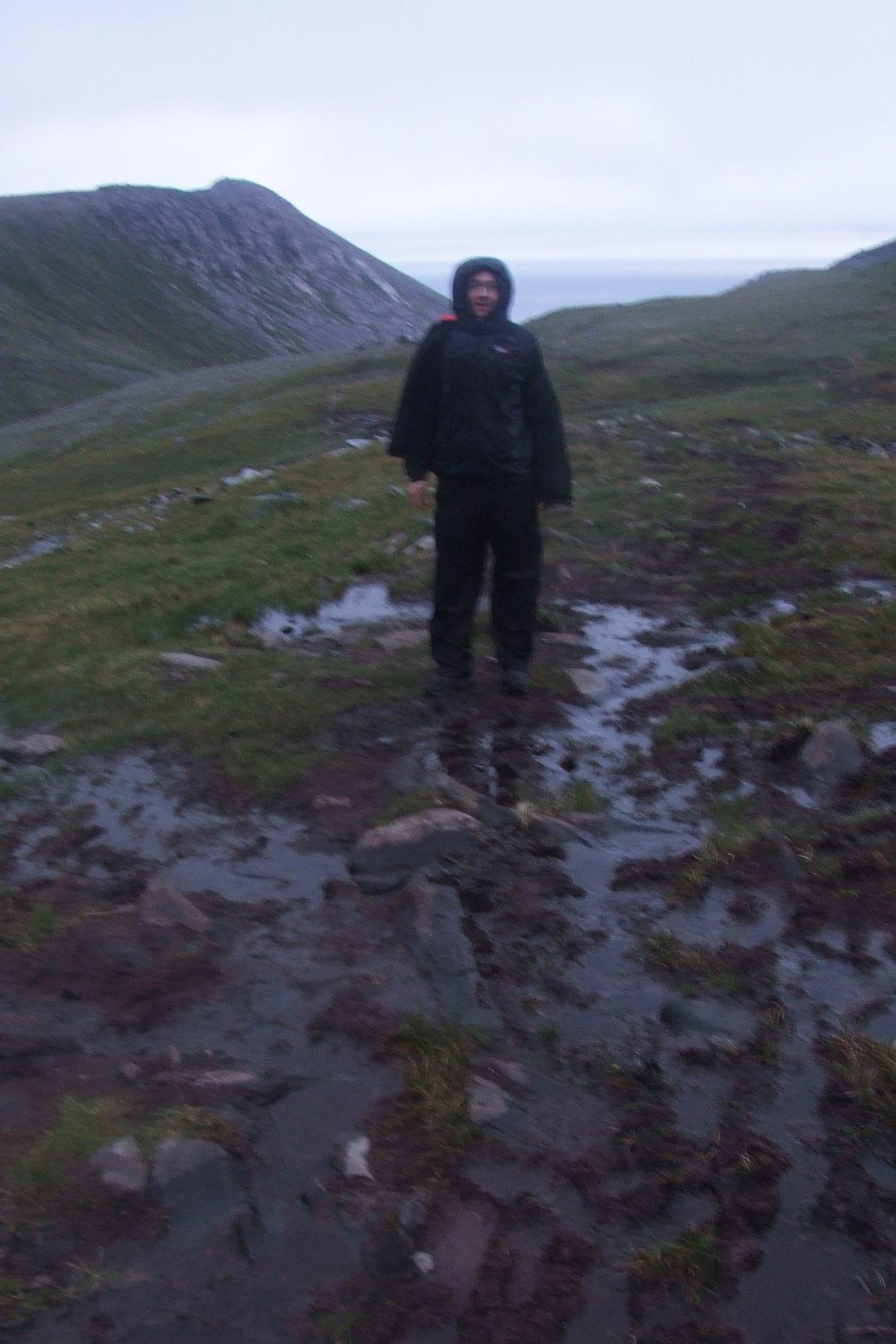 nordkapp george negotiating the mud