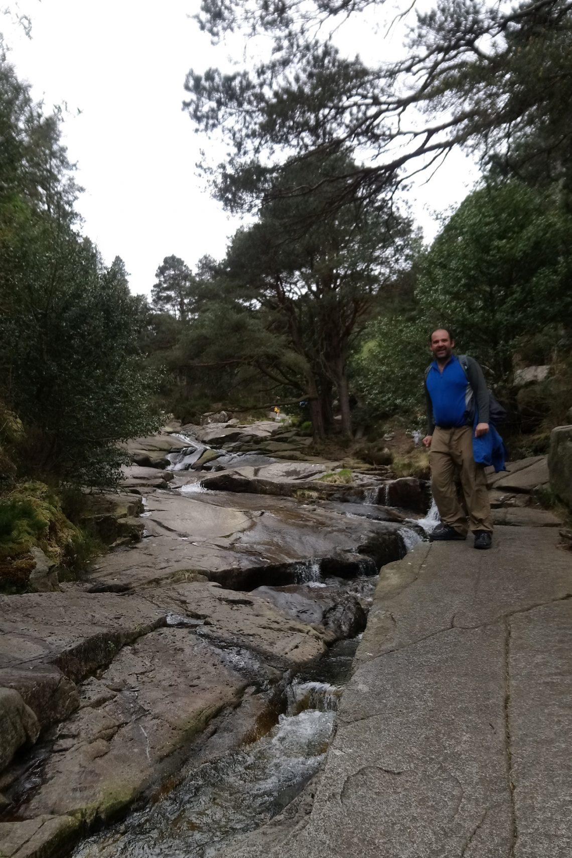 slieve donnard maz by the stream