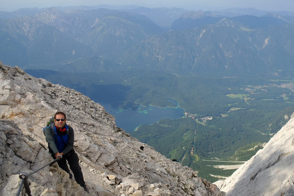 zugspitze maz on the iron rope
