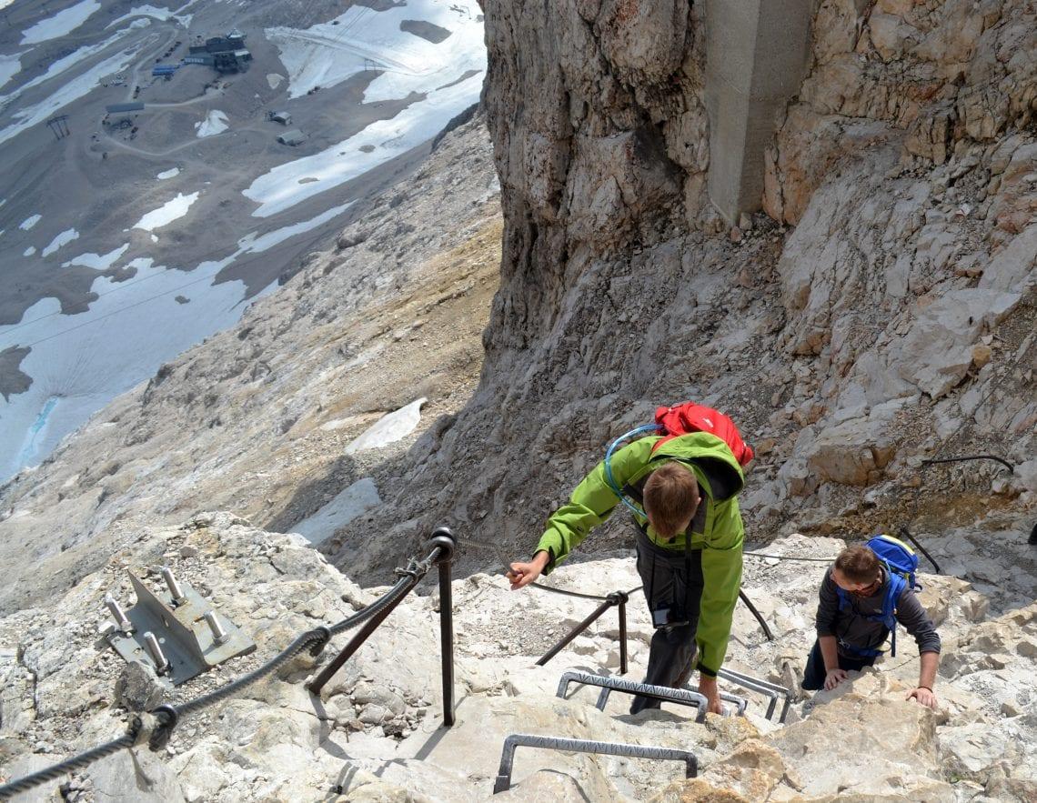 zugspitze final climb
