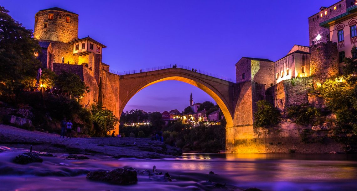 The Old Bridge ( Mostar - Bosnia and Herzegovina )