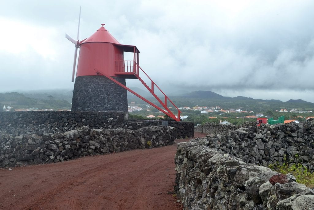 azores bad weather on pico did not stop us going for a walk