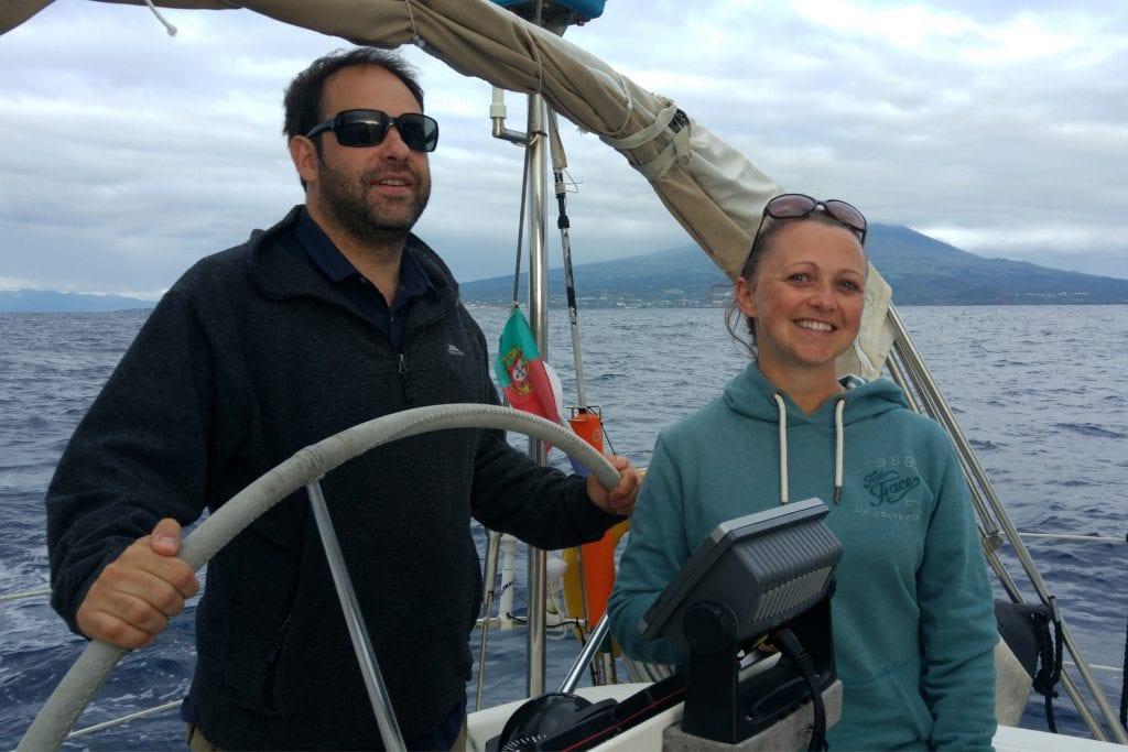 azores emma and maz sailing