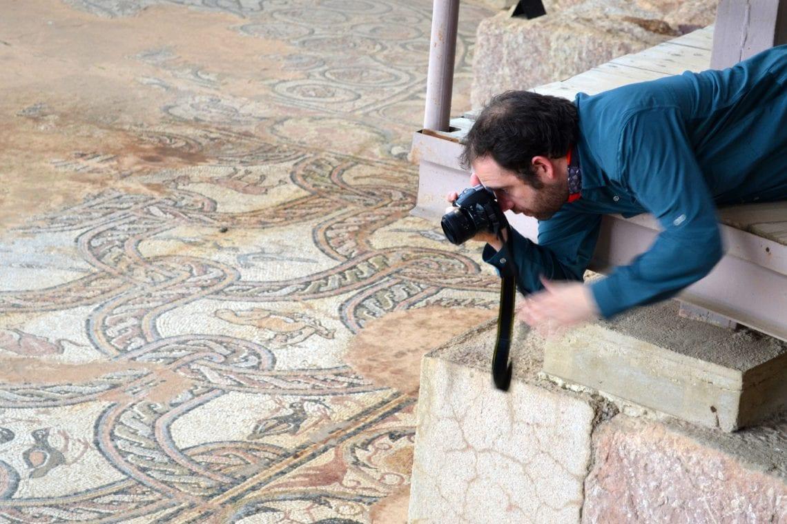 balkan backpack mosaics at ohrid